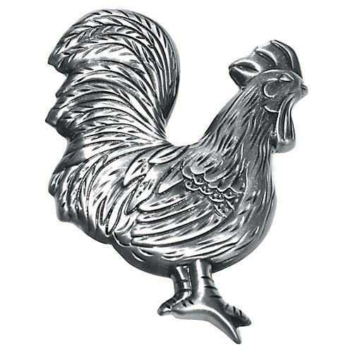 Pewter Rooster Door Knocker