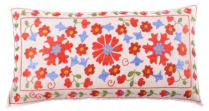 Floral Suzani Bolster