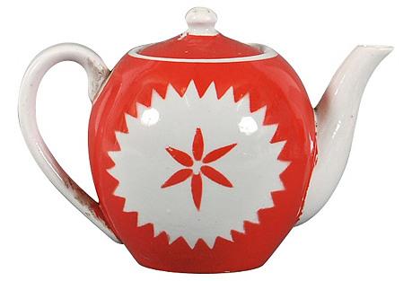 Russian Porcelain Teapot