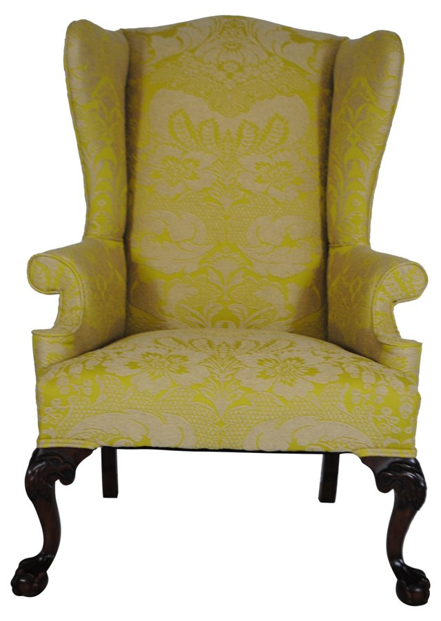 Federal-Style Wingback by Biggs