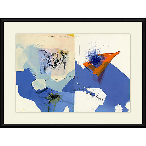 Abstract 1, Paul Rebeyrolle, 1967