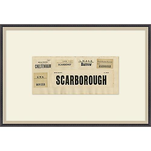 British Newspaper Clippings, Scarborough