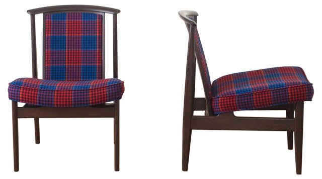 Dux Chairs, Pair