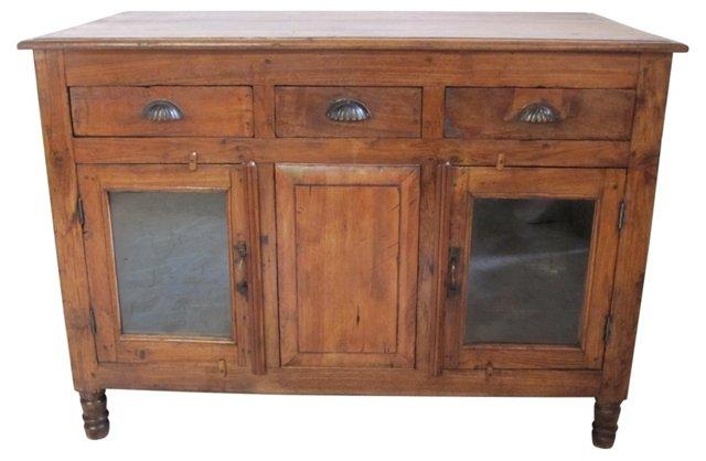 18th-C. Walnut Sideboard