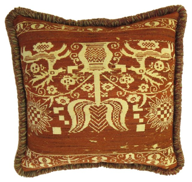 Early American Wool Pillow
