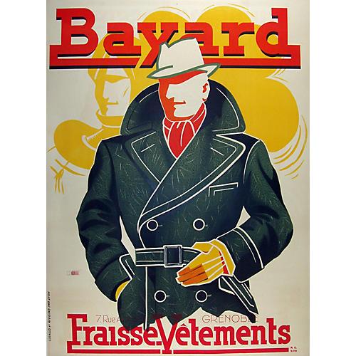 1930s Bayard Fashion Poster