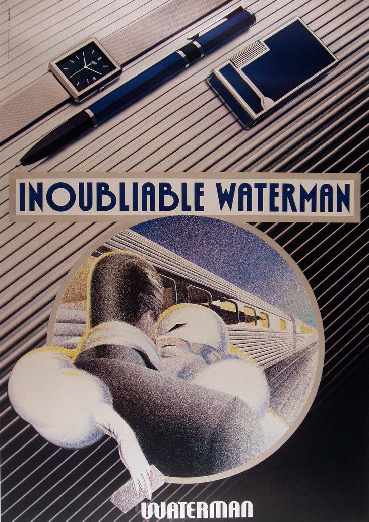 Inoubliable Waterman Poster