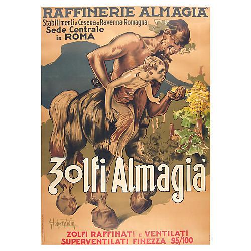 Zolfi Almagia Poster