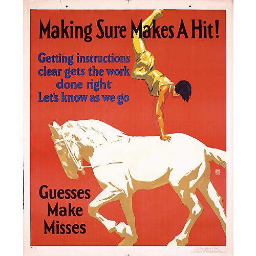 Acrobat & Horse Original