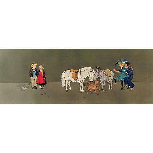 Decorative Panel w/ Children, 1911