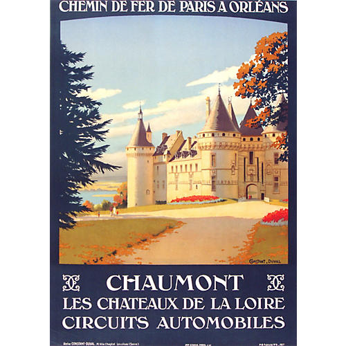 Chaumont Poster by Constant-Duval, 1927