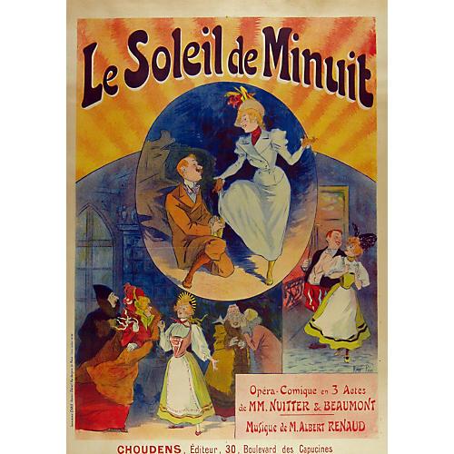 Opera Poster by René Pean, 1895