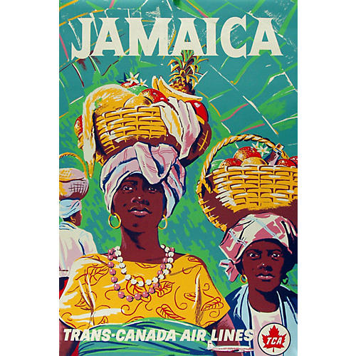 Original Trans-Canada Air Lines Poster
