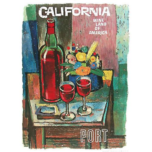 California Port Poster