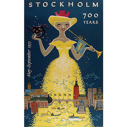 Original Stockholm Festival Poster