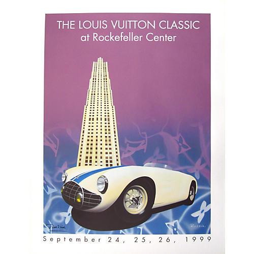 Original Louis Vuitton Car Show Poster