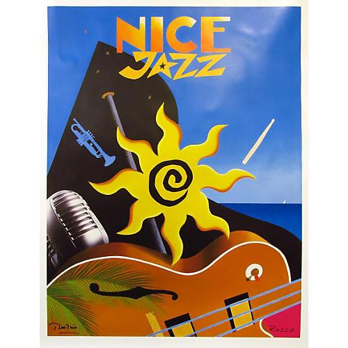 """Nice Jazz"" Festival Poster"