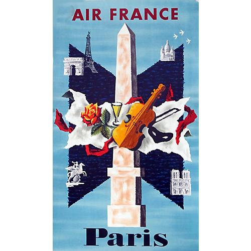 Air France Paris, C.1960