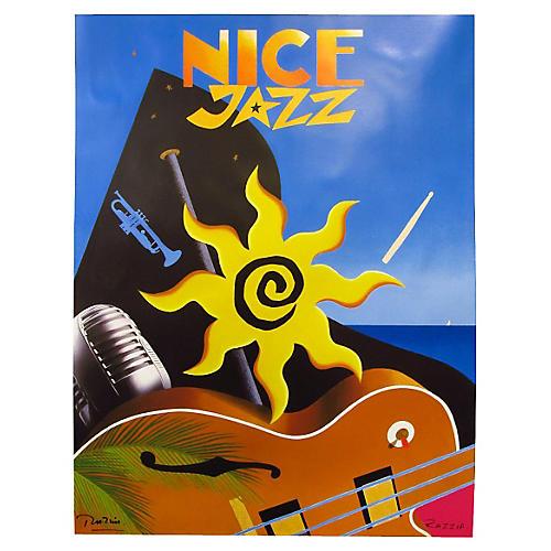 Nice Jazz Poster