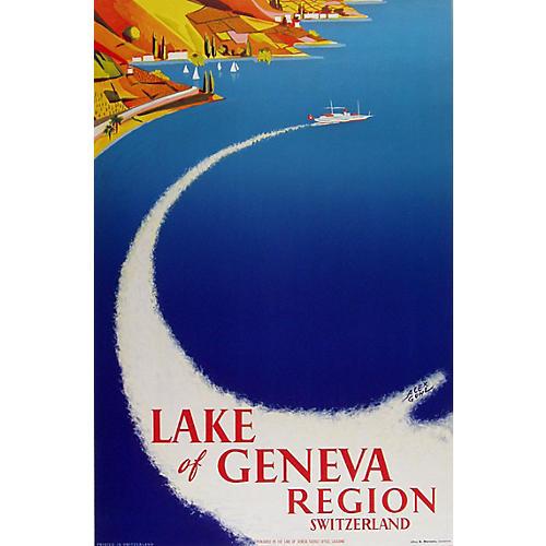 Lake of Geneva Region Poster