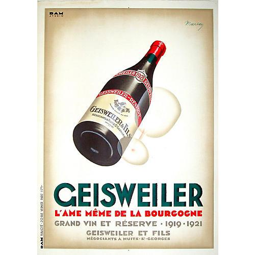 geisweiler wine poster