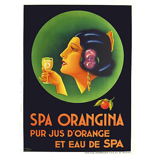 Spa Orangina Poster
