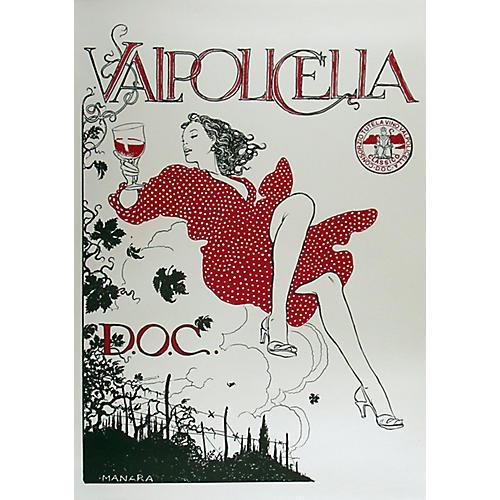 Valpolicella Italian Wine Poster