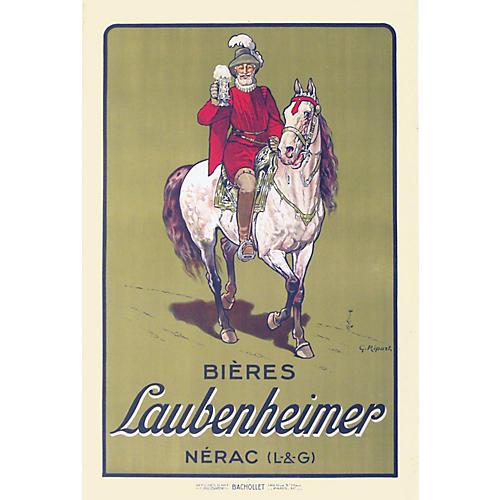 Bières Laubenheimer Poster