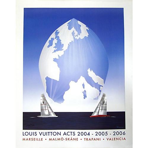 Louis Vuitton 2004-2006 Sailing Poster