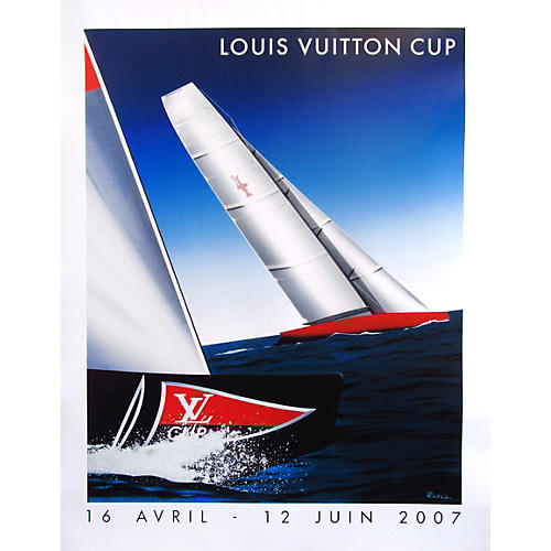 Louis Vuitton Cup 2007 Sailing Poster