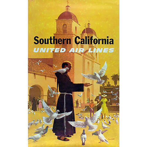 United Air Lines, S.C Poster