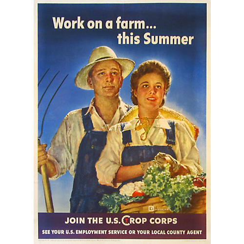 WWII Crop Corps by Douglas, 1943