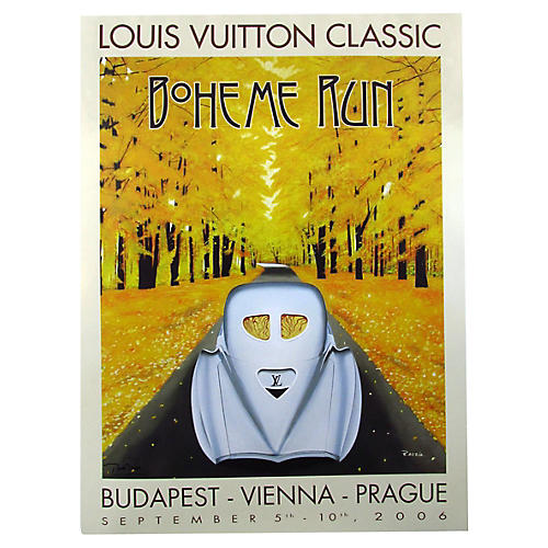 Louis Vuitton Classic Boheme Run Poster