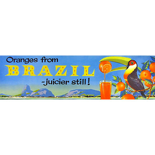 Original Fruit Poster