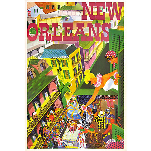 Original New Orleans Poster