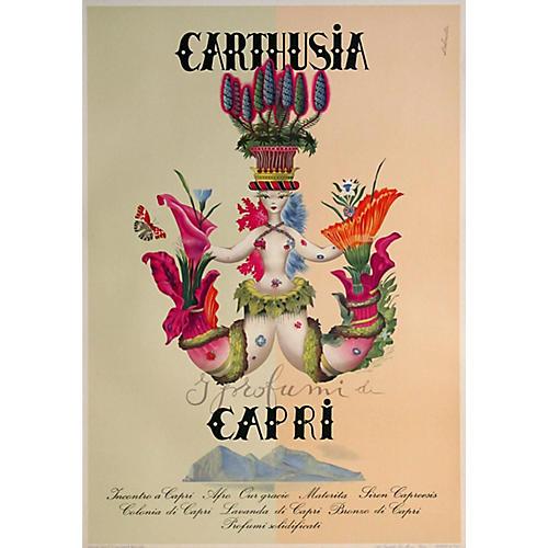 Italian Perfume Poster