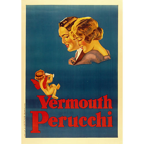 Vermouth Perucchi Poster