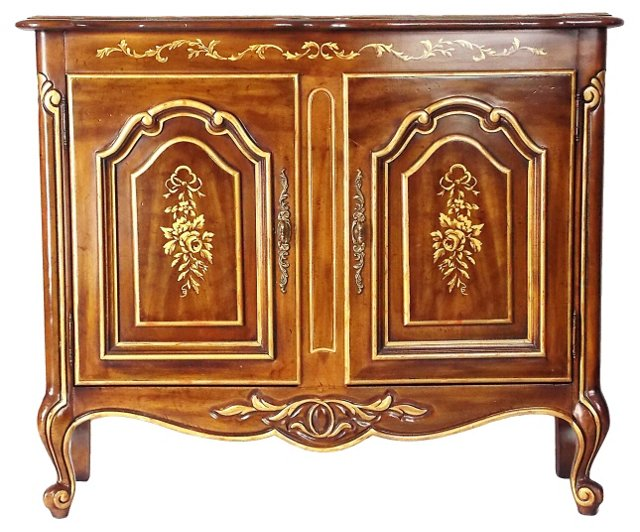 French-Style Cabinet   by Drexel