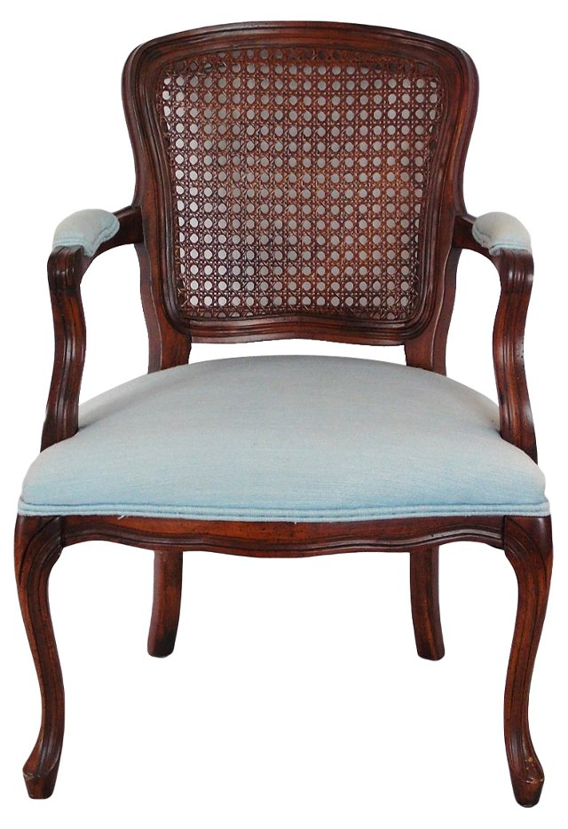 French-Style Caned Chair