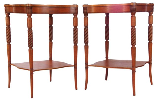 2-Tier  Tables, Pair
