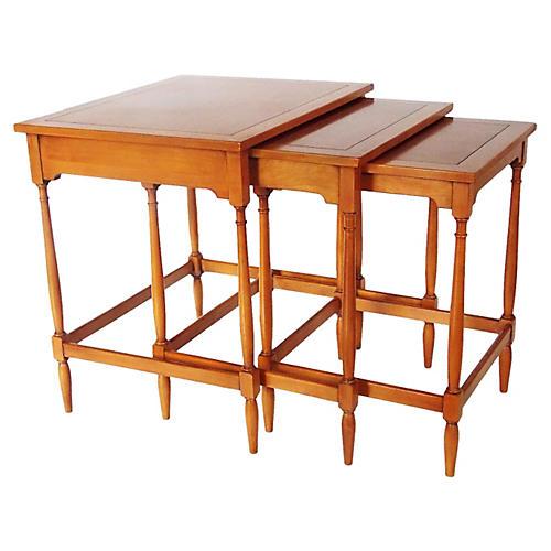 Hekman Nesting Tables, S/3