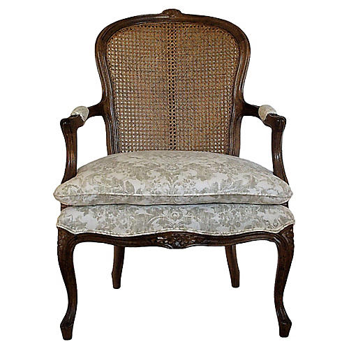 Provençal-Style Accent Chair