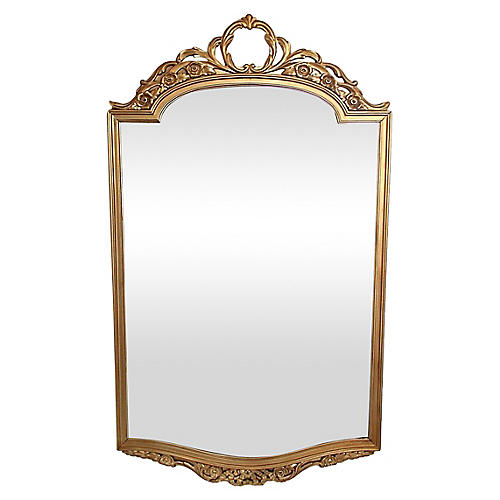 Arched Giltwood Mirror