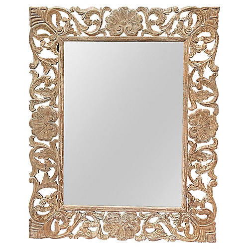 Grand Carved Mirror