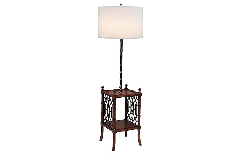 Chippendale Style Floor Lamp