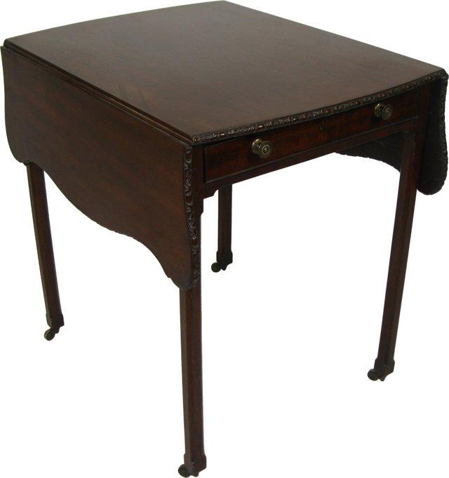 18th-C. George II Pembroke Table