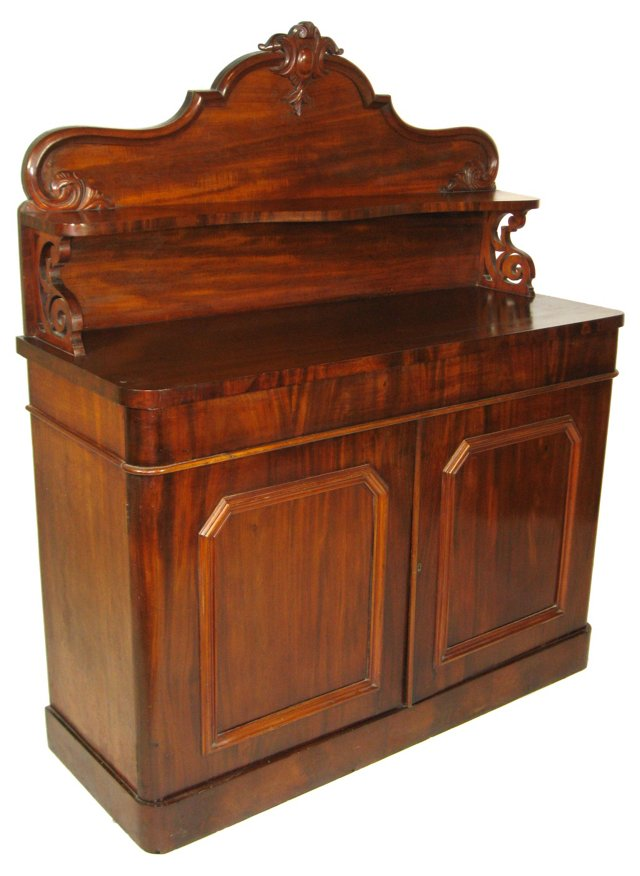 19th-C. English Sideboard