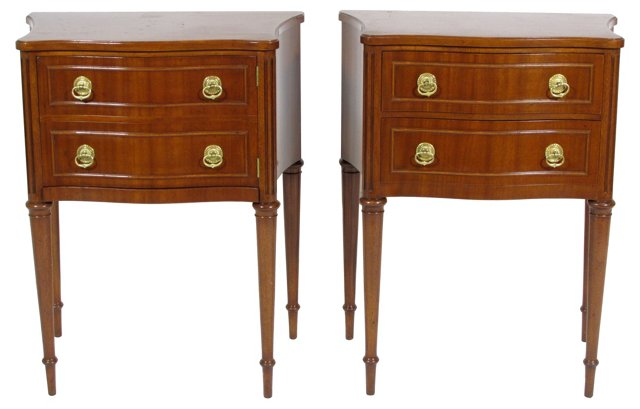 Nightstands by Joseph Gerte, Pair