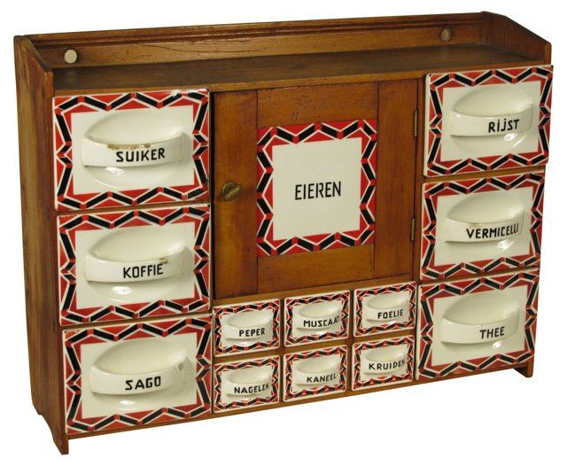 Dutch Spice Cabinet