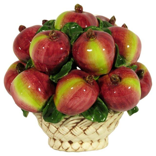 Italian Bowl of Pomegranates